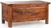 Ancient Mariner East Indies Dark Mango Wood Bedding Box