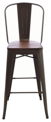 Ancient Mariner Fitzroy Elm Bar Chair