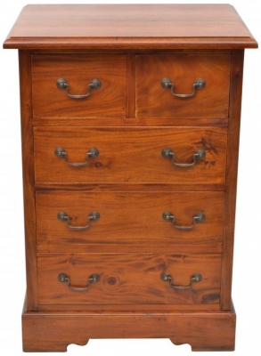 Ancient Mariner Mahogany Village 2+3 Drawer Chest