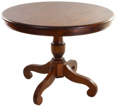 Ancient Mariner Mahogany Village Round Dining Table