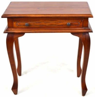Ancient Mariner Mahogany Village Console Table