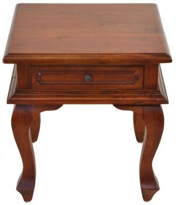 Ancient Mariner Mahogany Village Lamp Table