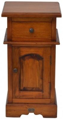 Ancient Mariner Mahogany Village Bedside Cabinet