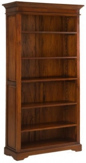 Ancient Mariner Mahogany Village Bookcase - Large