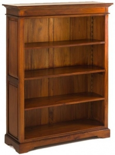 Ancient Mariner Mahogany Village Bookcase - Medium