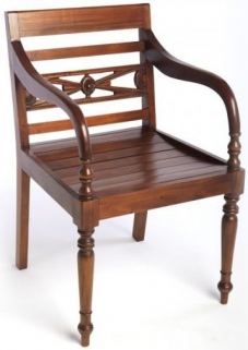Ancient Mariner Mahogany Village Chair - Raffles