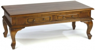 Ancient Mariner Mahogany Village Coffee Table - Cab Leg