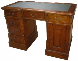 Ancient Mariner Mahogany Village Desk - Small