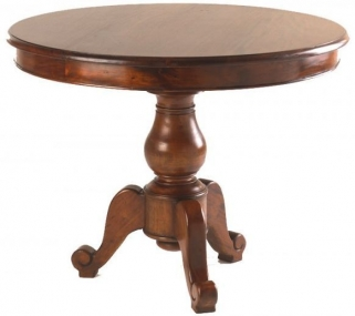 Ancient Mariner Mahogany Village Dining Table - Round