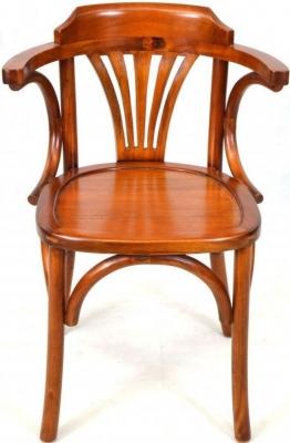 Ancient Mariner Mahogany Village Occasional Chair