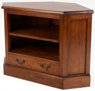 Ancient Mariner Mahogany Village TV Unit - Corner