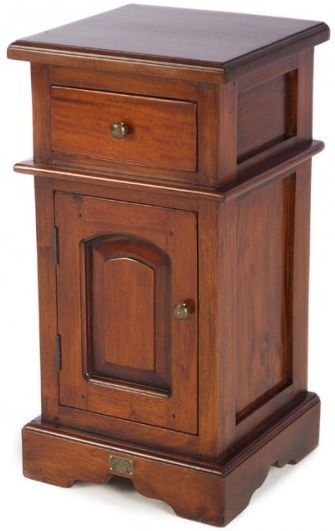 Ancient Mariner Mahogany Village Bedside Cabinet - Small Victorian