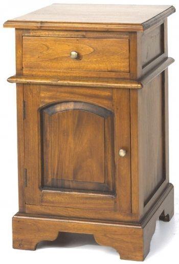 Ancient Mariner Mahogany Village Bedside Cabinet - Victorian