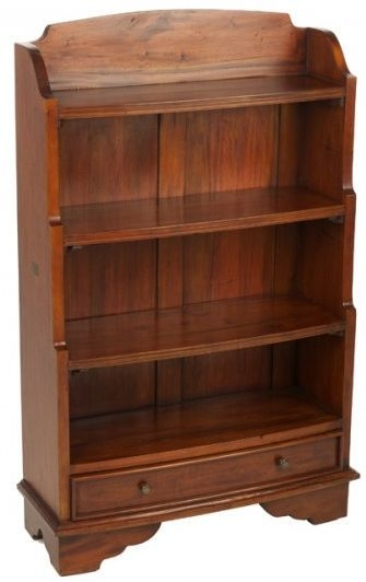 Ancient Mariner Mahogany Village Bookcase - Waterfall