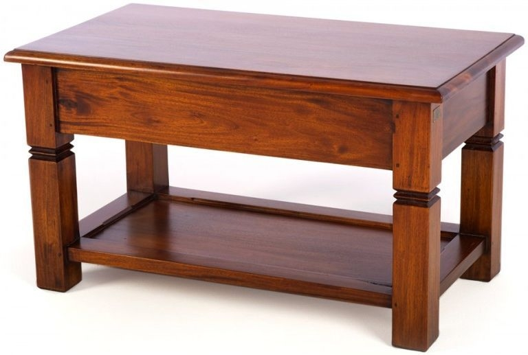 Ancient Mariner Mahogany Village Coffee Table - Small
