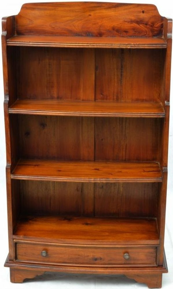 Ancient Mariner Mahogany Village Waterfall Bookcase