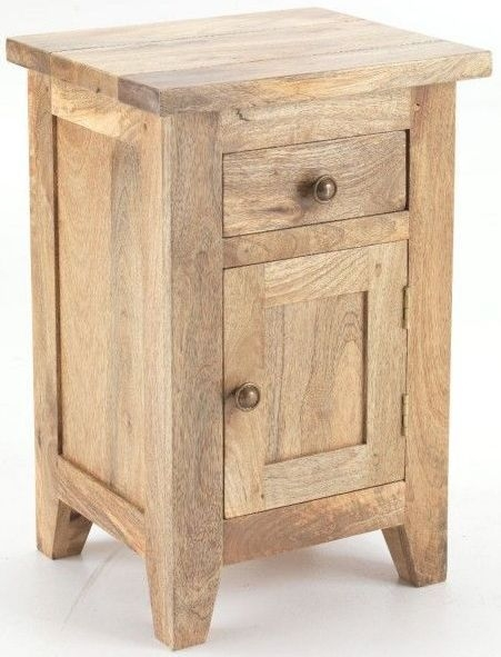 Ancient Mariner Metro Mango Wood Bedside Cabinet