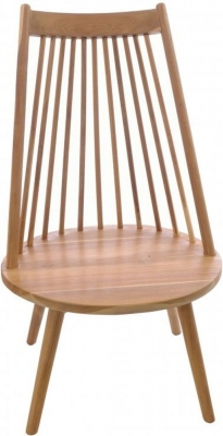 Ancient Mariner Nordic Teak Wood Tallback Chair