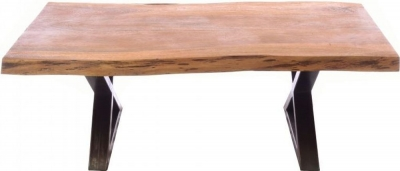 Ancient Mariner Old Empire Acacia Wood Coffee Table