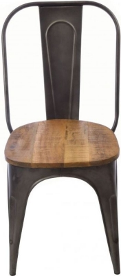Ancient Mariner Old Empire Mango Wood Dining Chair