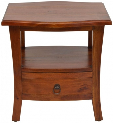 Ancient Mariner Pacific Mahogany Lamp Table