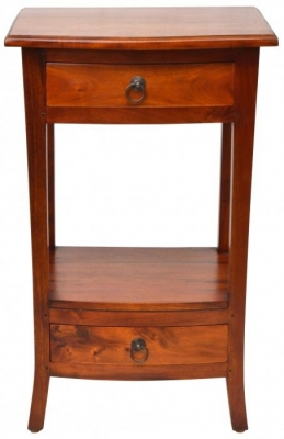 Ancient Mariner Pacific Mahogany Telephone Table
