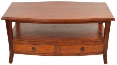 Ancient Mariner Pacific Mahogany Coffee Table