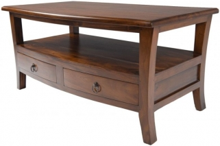 Ancient Mariner Pacific Solid Mahogany Coffee Table
