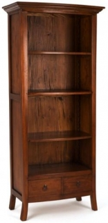 Ancient Mariner Pacific Solid Mahogany Large Bookcase