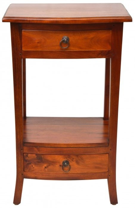 Ancient Mariner Pacific Mahogany Telephone Table