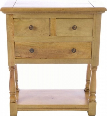 Ancient Mariner Plato Mango Wood Telephone Table