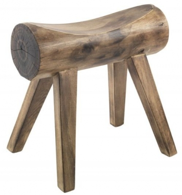 Ancient Mariner Rustico Log Stool