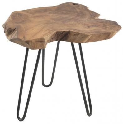 Ancient Mariner Rustico Root Lamp Table