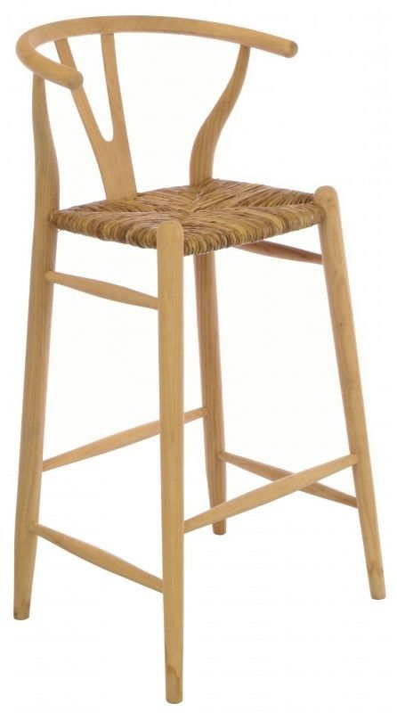 Ancient Mariner Shoreditch Bar Chair with Rush Seat