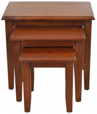 Ancient Mariner Victorian Mahogany Nest of Tables
