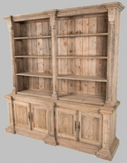 Ancient Mariner Vintage Bookcase - Georgian