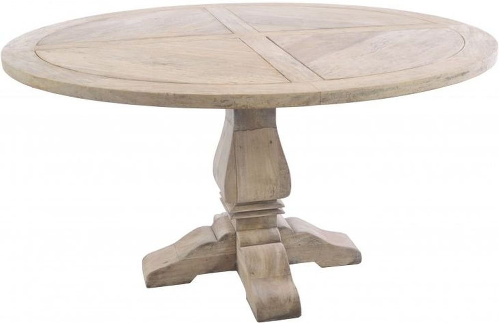 Ancient Mariner Vintage Large Round Dining Table