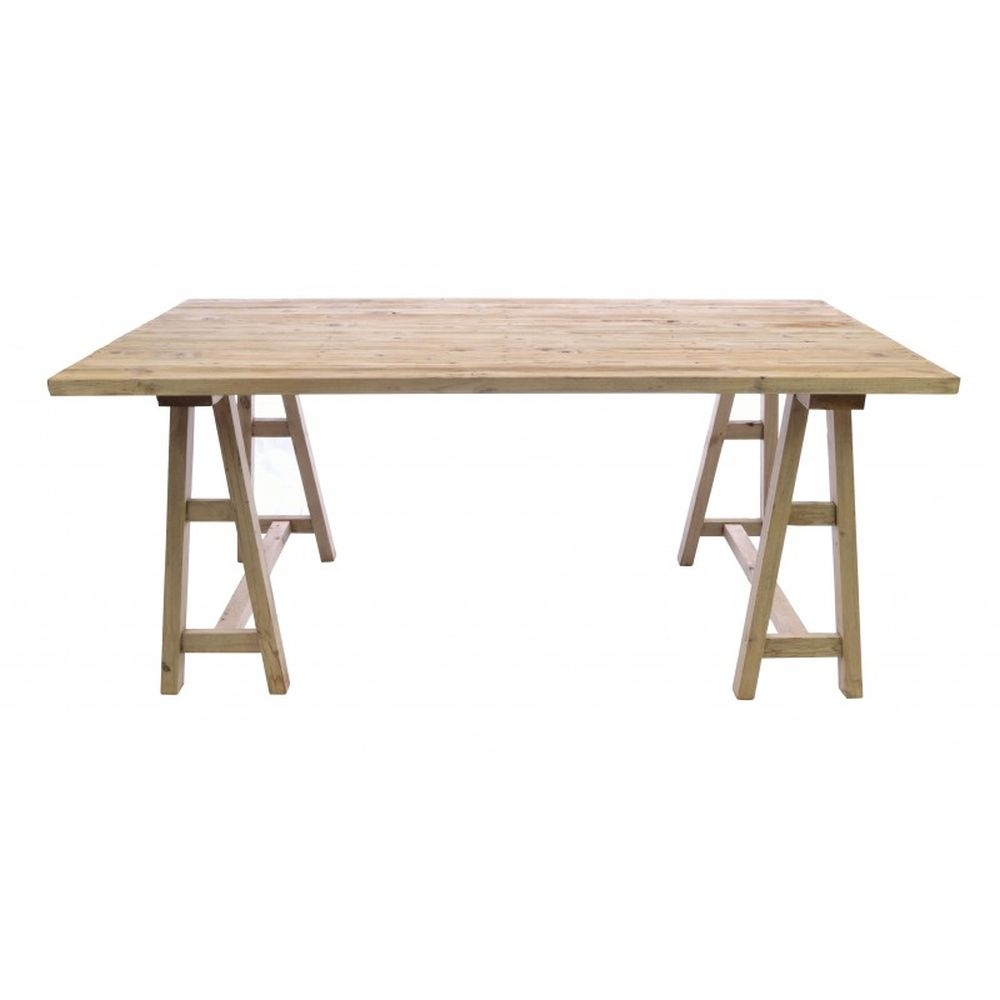 Ancient Mariner Vintage Trestle Dining Table