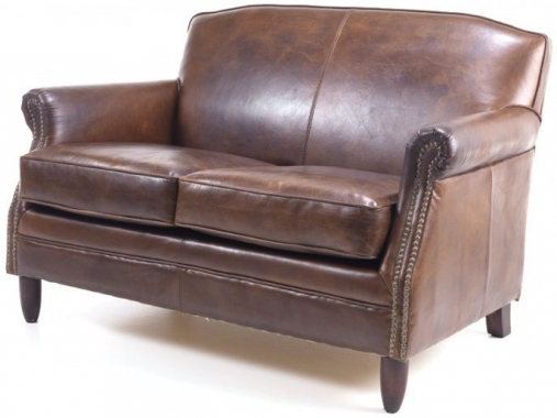 buy leather sofa buy ancient mariner vintage brown leather 2 seater 11878 | 1 Ancient Mariner Vintage Leather 2 Seater