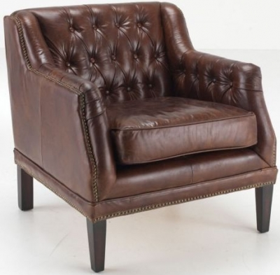 Ancient Mariner Fiona Leather Chair