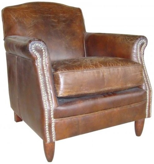 Ancient Mariner Vintage Leather Armchair