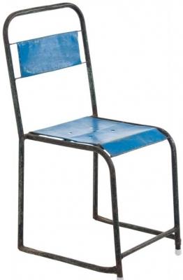 Ancient Mariner Vintage Metal Tube Framed Stacking Chair