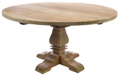 Ancient Mariner Vintage Mahogany 150cm Round Dining Table