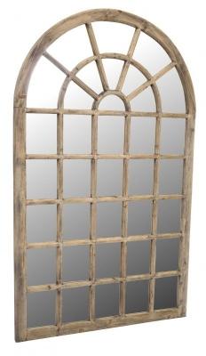 Ancient Mariner Vintage Mahogany Tall Georgian Mirror - 120cm x 200cm