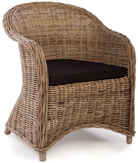 Ancient Mariner Water Hyacinth Rattan Tub Chair