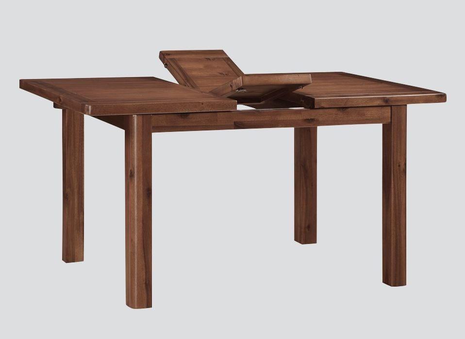 Andorra Dark Acacia Large Extending Dining Table