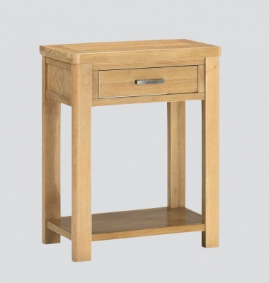 Andorra Washed Oak Console Table