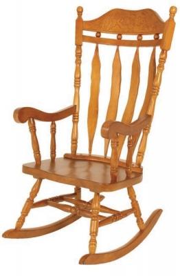 Jefferson Oak Rocker Chair