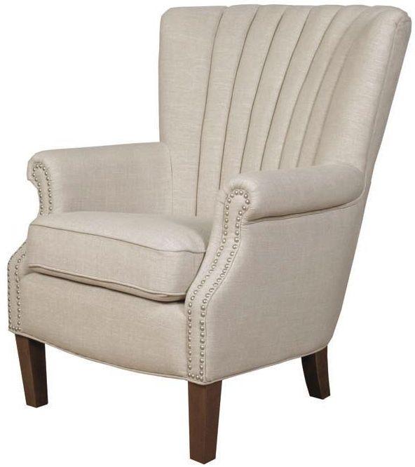 Stratford Beige Fabric Armchair