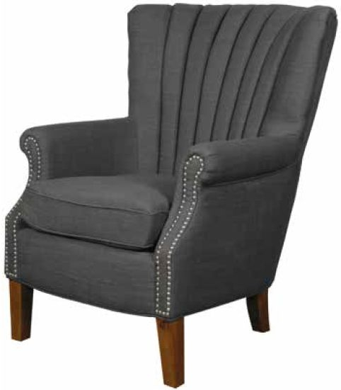 Stratford Charcoal Armchair